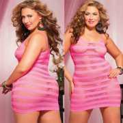 Платье Seven`til Midnight в Полоску - XL, розовый...