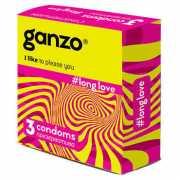 Презервативы Ganzo Long Love №3 с анестетиком...