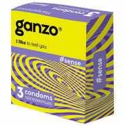 Презервативы Ganzo Sense №3 ультратонкие...