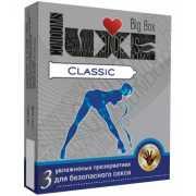 Презервативы: Презервативы LUXE Classic - 3 шт....