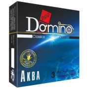 Презервативы: Презервативы Domino  Аква  - 3 шт....