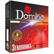 Презервативы: Ароматизированные презервативы Domino  Земляни...