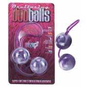 Вагинальные шарики: Фиолетово-белые вагинальные шарики со см...