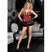 Эротическое платье: Лаковая мини-юбочка...