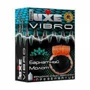 Эрекционные кольца: Эрекционное виброкольцо Luxe VIBRO  Барх...