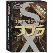 Презервативы: Суженные к основанию презервативы Sagami Xtrem...