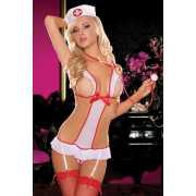 Игровые костюмы: Откровенное боди медсестры...