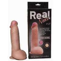 Реалистичные: Реалистичный фаллоимитатор  на присоске REAL N...