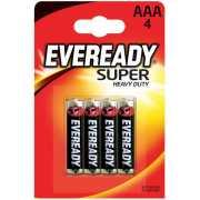Элементы питания и аксессуары: Батарейки EVEREADY SUPER R03 ...