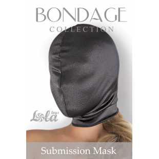 Маски, кляпы: Глухая шлем-маска Submission Mask