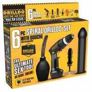 Секс-машины: Секс-набор SPIRAL DRILLDO SET 6 PIECE...