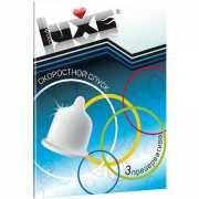 Презервативы: Презервативы Luxe  Скоростной спуск  - 3 шт....