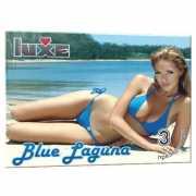 Презервативы: Презервативы Luxe Blue Laguna - 3 шт....