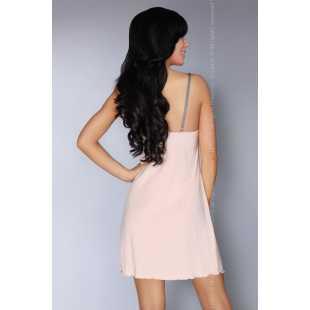Сорочки, беби-долл: Соблазнительная сорочка Priita с кружевом на лифе