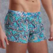 Мужское белье: Боксеры с узорами из хлопково-модальной ткани...