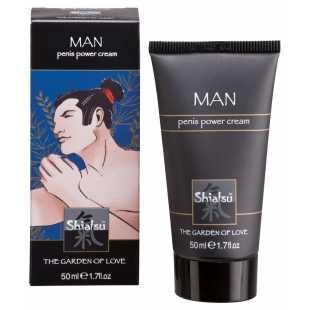 Стимулирующий крем для мужчин Shiatsu Penis Power