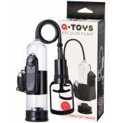 Вакуумная помпа для пениса TOYFA A-Toys с вибрацией – черный...