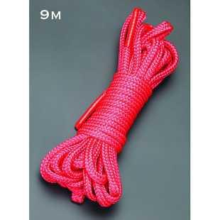 Веревка для бондажа Sitabellа  – красный, 9 м