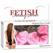Наручники Original Furry Cuffs – розовые