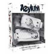 Фиксаторы для рук и ног Asylum – белые...