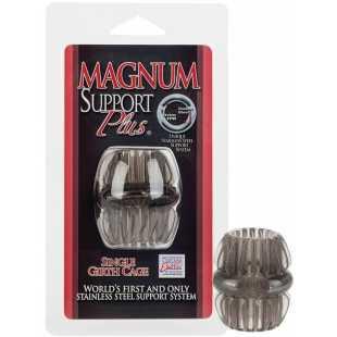 Насадка стимулирующая Magnum Support Plus Single Girth Cage – черный