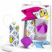 Клиторальный вибростимулятор Tokidoki Diamond в форме диаман...