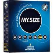 Презервативы My.Size 64 - 3 шт.