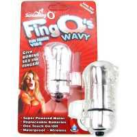 Вибростимулятор на палец Screaming O - Fing O с волнами – пр...