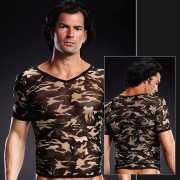Камуфляжная футболка BlueLine из сетки – L/XL...
