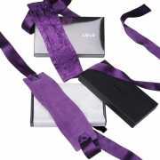 Шелковые наручники Lelo Etherea Silk Cuffs - фиолетовые...