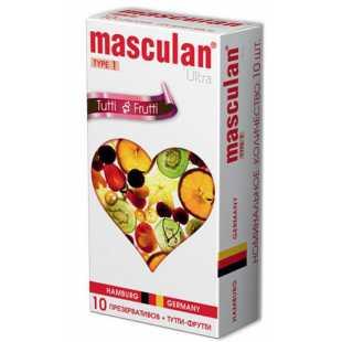 Ароматизированные презервативы Masculan Ultra 1 - 10 шт.
