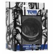 Эрекционное кольцо из металла Tom of Finland 50mm Aluminum C...