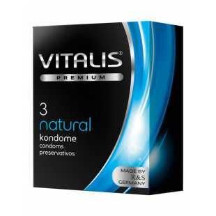 Презервативы Vitalis №3 Natural (Safety) классические