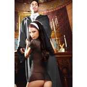 Игровой костюм Сексуальная Монашка - Diva Size...