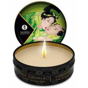 Массажное арома масло в виде свечи Exotic Green Tea