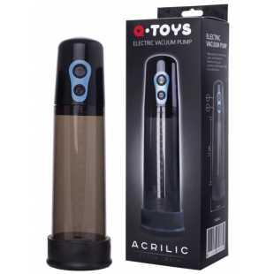 Автоматическая помпа для пениса TOYFA A-Toys – черный