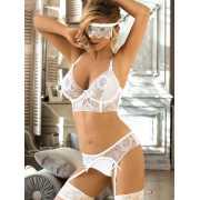 Комплект сексуального белья для невесты Vikki - S/M...