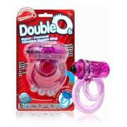 Двойное виброкольцо Screaming O - Double O 6 со стимулятором...