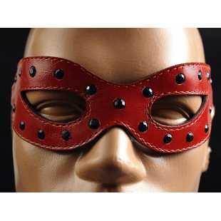 Красная маска на глаза «Глэм Хищница»
