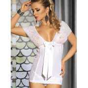 Очаровательная сорочка Caprice Eloisa – белый, S/M...