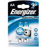 Литиевые  батарейки Energizer AA Maximum - 2 шт....