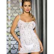 Сексуальная сорочка Caprice Tina – белый, S/M...