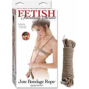 Веревка для бондажа Jute Bondage Rope – 9 м