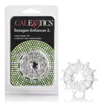 Текстурированное эрекционное кольцо Sexagon Enhancer 2 – про...