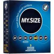 Презервативы My.Size 60 - 3 шт.