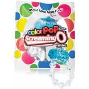 Яркое кольцо на пенис ColorPop Quickie Screaming O с вибраци...