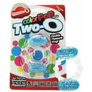Эрекционное кольцо ColorPop Quickie Two-O с двойной стимуляц...