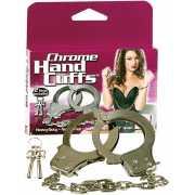 Наручники металлические Chrome Hand Cuffs хромированные...