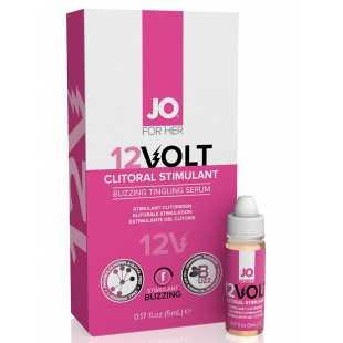 Возбуждающая сыворотка мощного действия JO Volt 12v - 5 мл