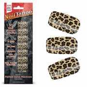 Набор лаковых полосок для ногтей Леопард Nail Foil...